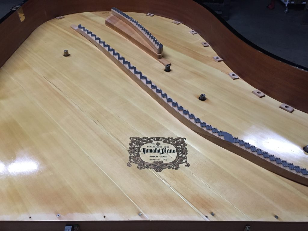 Soundboard Yamaha Restoration Amadeus Piano