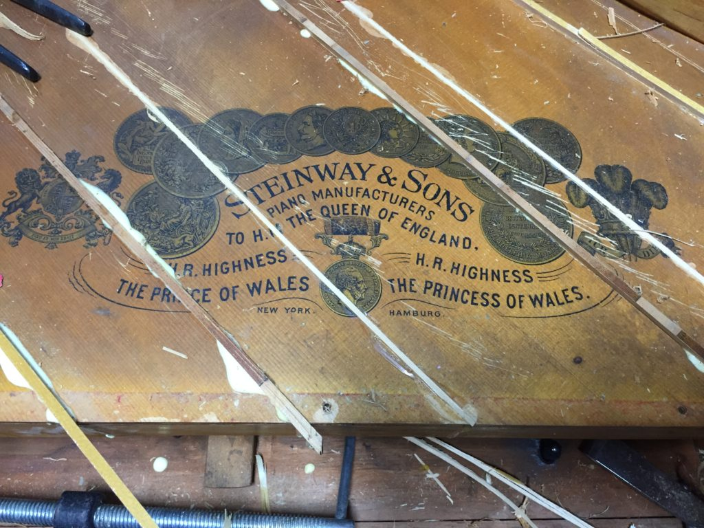 Steinway Grand Piano Soundboard Shims