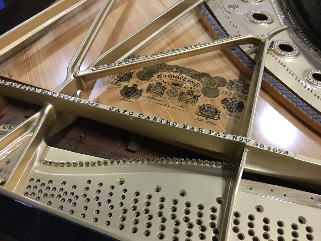 Steinway Grand Piano Plate Amadeus Piano